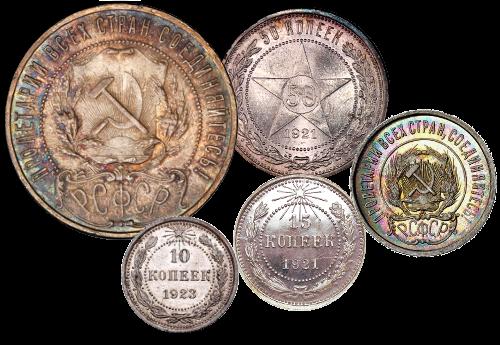 Каталог советских регулярных монет тубус прозрачный упаковка