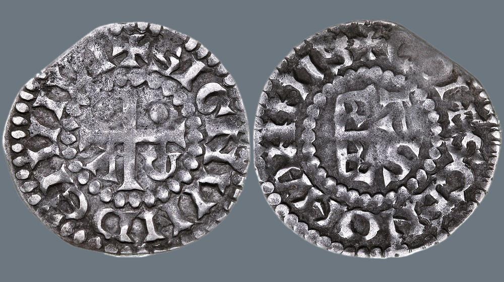 Денарий графства Ле Ман, XI век