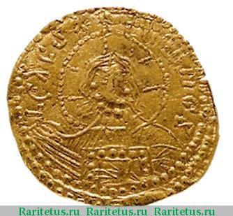 Златник князя Владимира. 988 г. Реверс