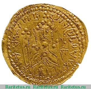 Златник князя Владимира. 988 г. Аверс