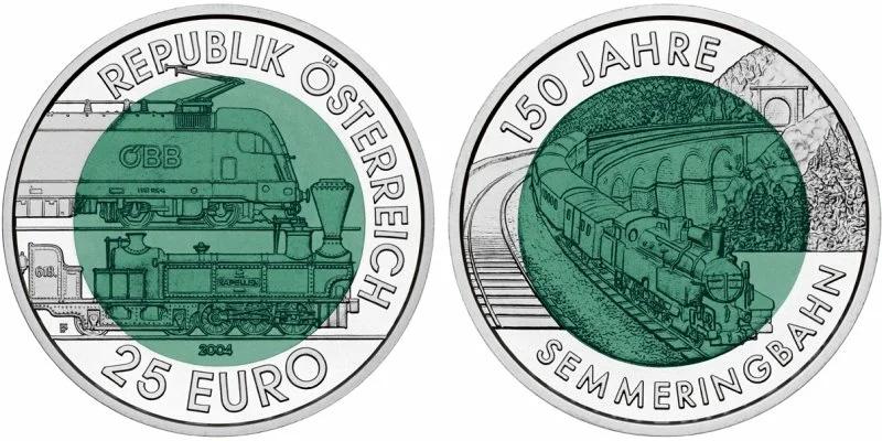 25 евро 2004 года