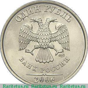 1 рубль 2006 тираж редких монет ссср