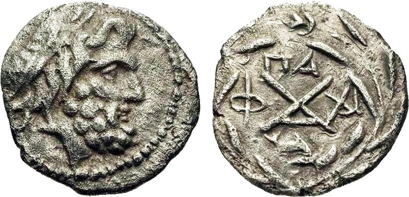 монета Древней Греции