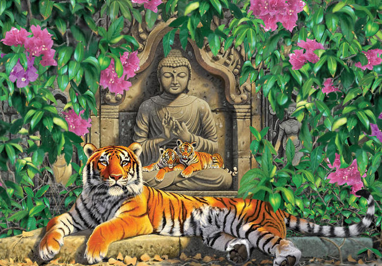 тигр и Будда