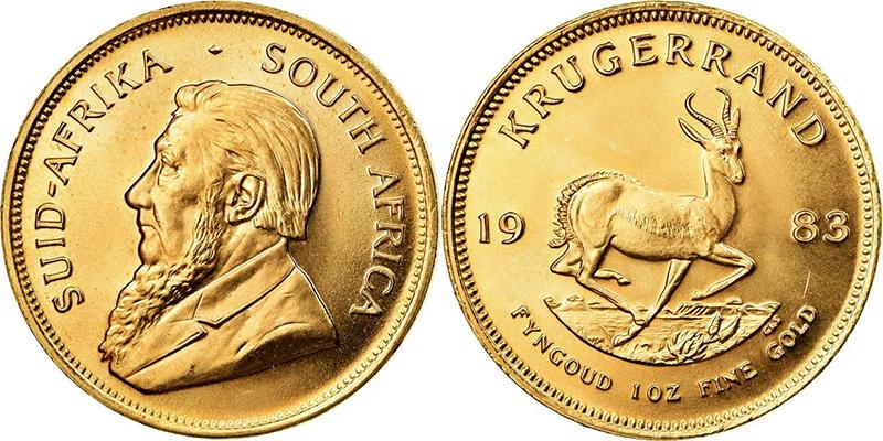 Крюгерранд - первая инвестиционная монета