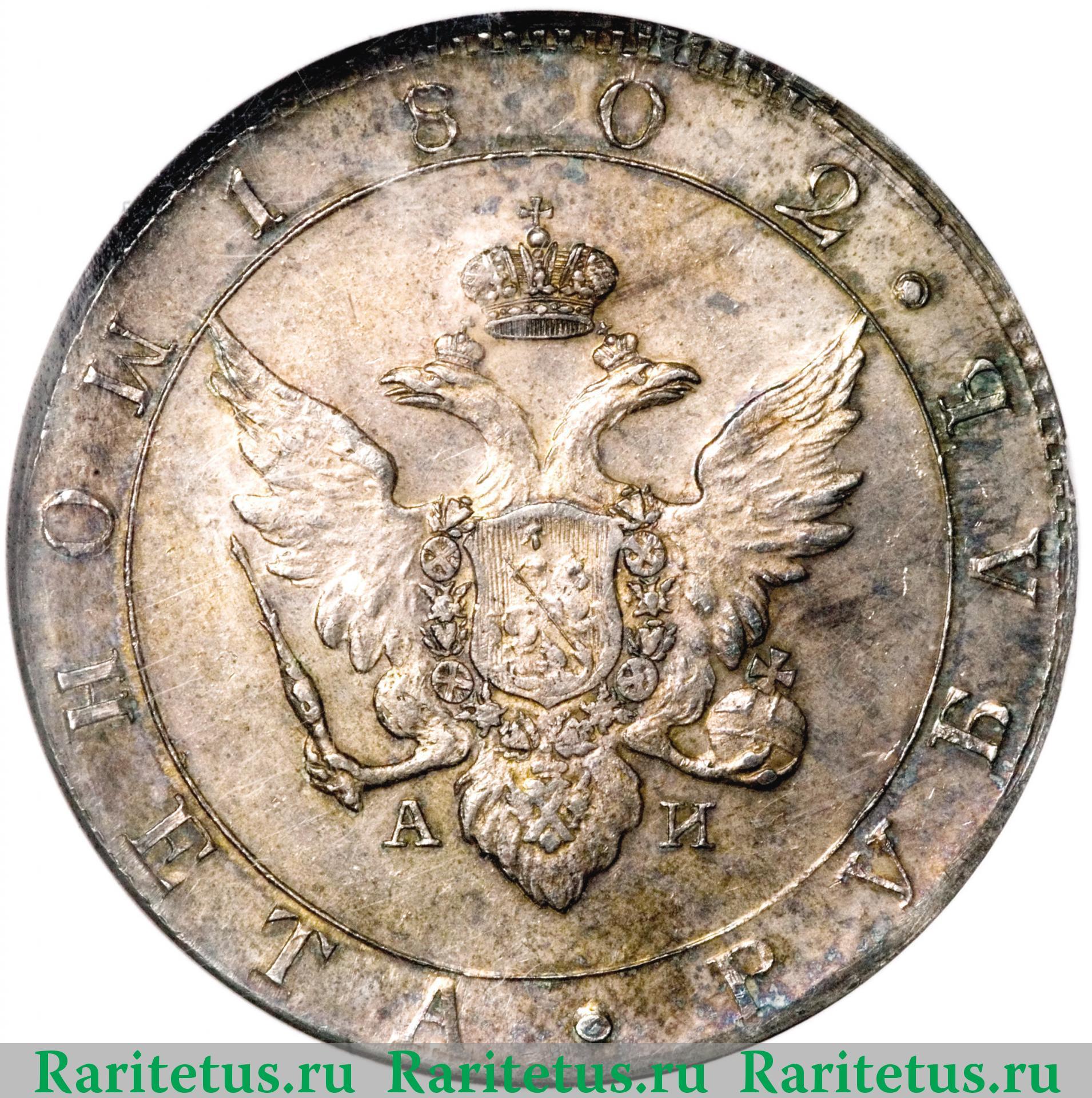 Рубль 1802 года цена знаменитые люди перми