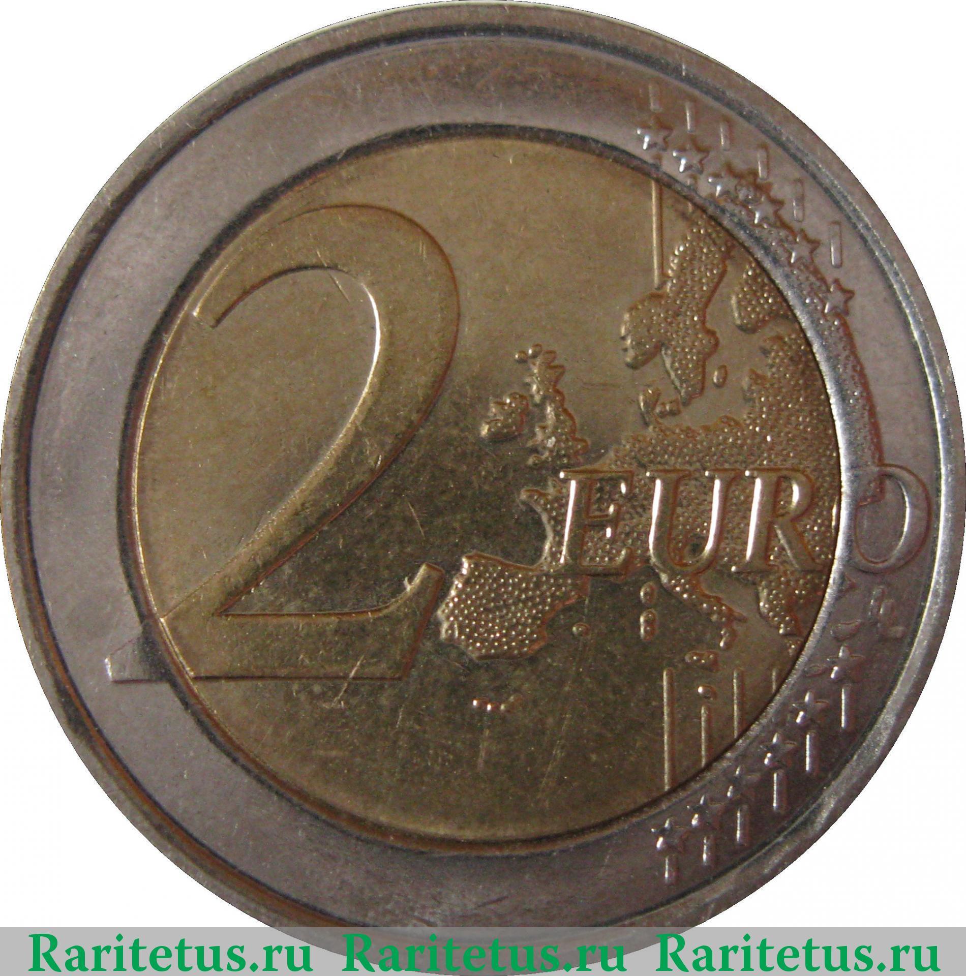 Монета 2 евро 2008 5 копеек украина 2008 стоимость