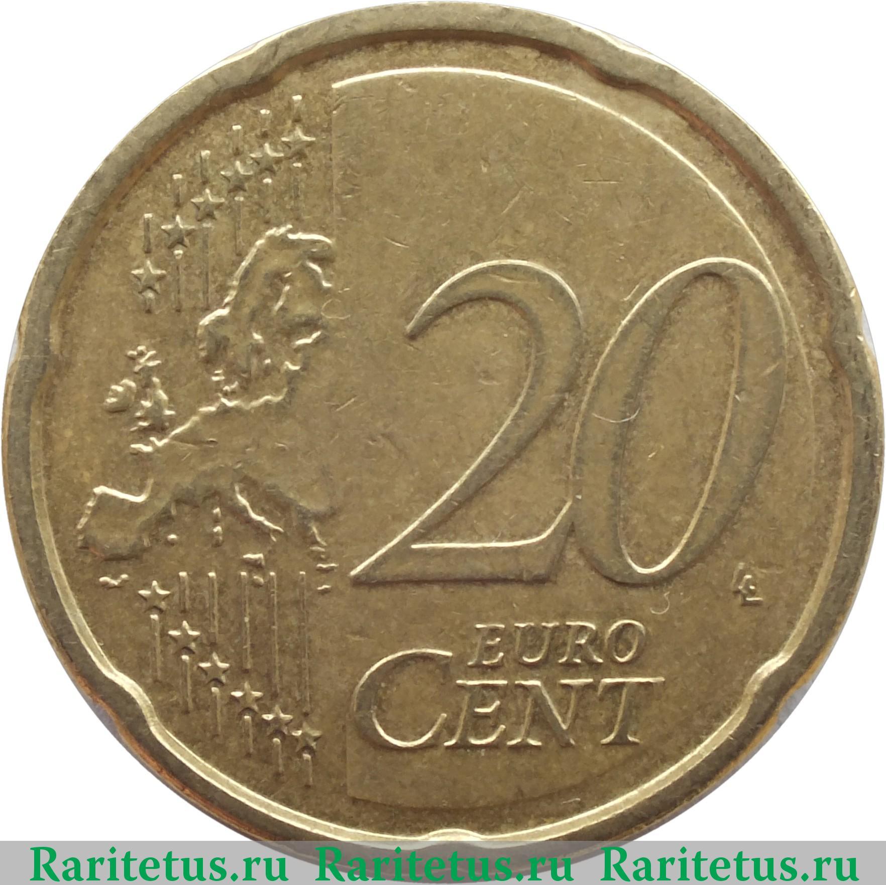 Монета euro cent 20 2011 года ее ценность 5 копеек 1773 года стоимость