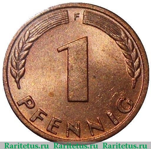 1 pfennig 1950 цена мосмонет ру