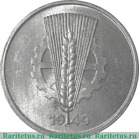 10 пфеннигов 1949 батавская республика