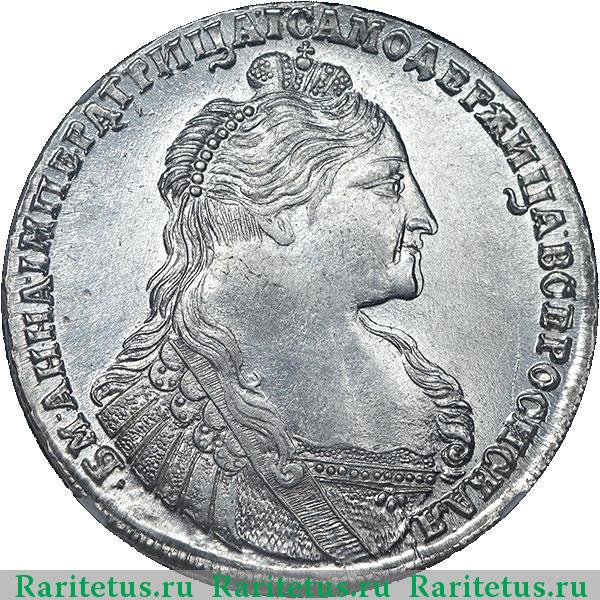 Рубль 1737 года цена редкая монета 1 рубль 1997 года