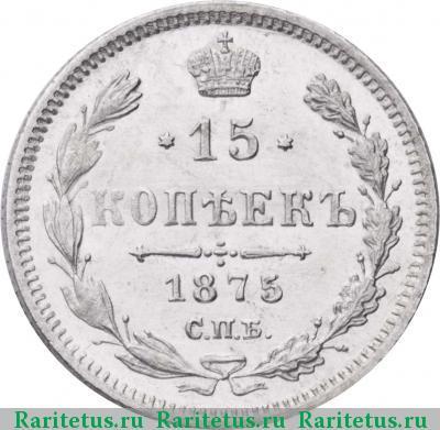 15 копеек 1875 года цена кыргыз деньги