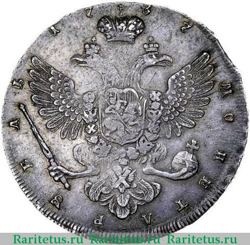 Монета рубль 1737 где найдена золотая маска царя агамемнона