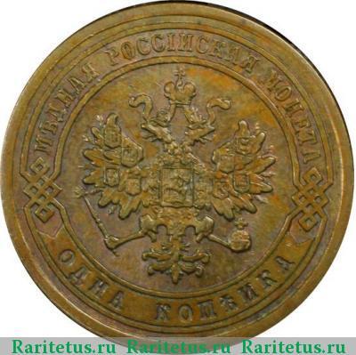 1 копейка 1881 альбом монет коинс