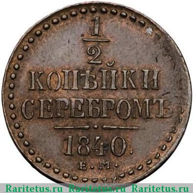 Копейки серебром 1840 года цена dalvey scotland