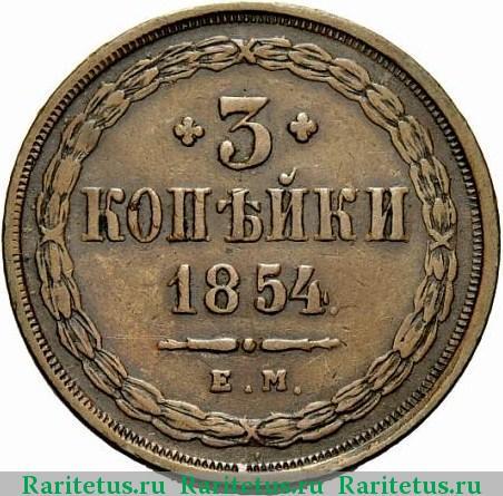 Копейка 1854 года цена монеты россии 1997 года стоимость каталог цены
