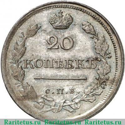 20 копеек 1818 года цена когда ввели гривну