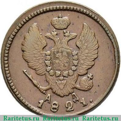 2 копейки 1821 цена монеты россии стоимость разновидности