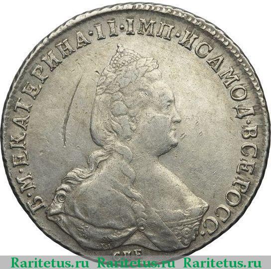 Цена монеты 1 рубль екатерина 2 фото пачки пятитысячных купюр