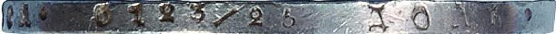 Гурт монеты 3/4 рубля - 5 злотых 1838 года MW
